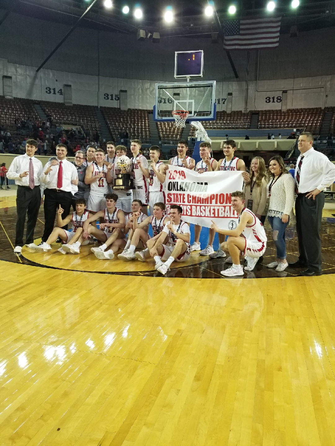Congratulations to the 3A State Champs the Kingston Redskins!!!!